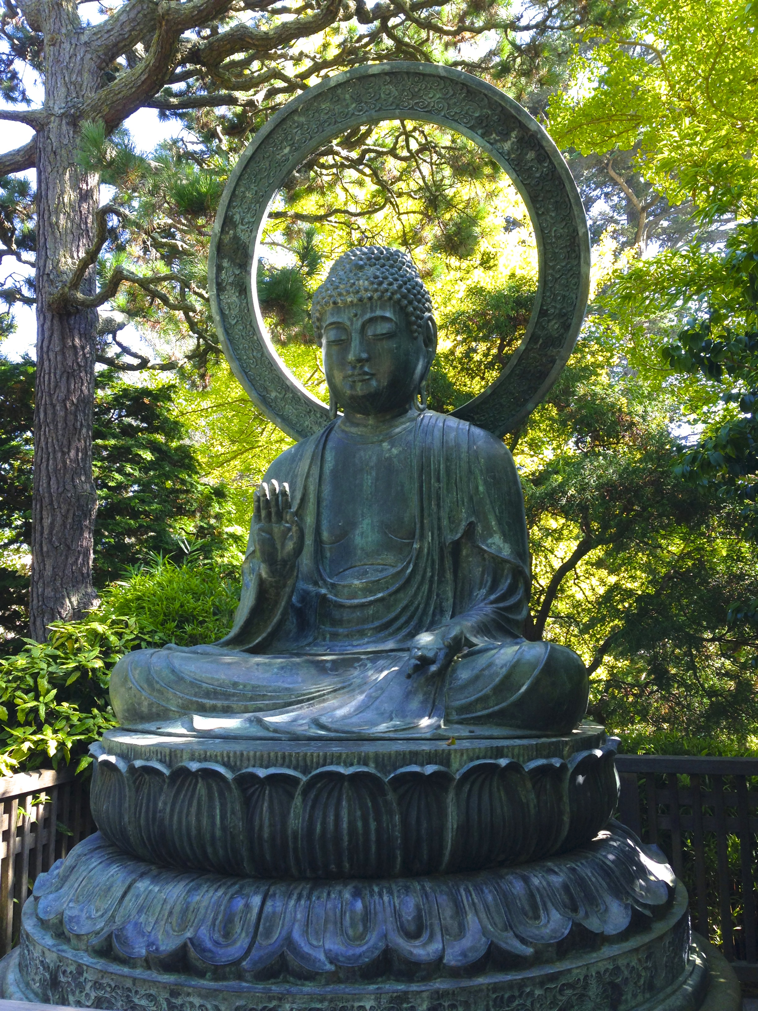 Buddha - Japanese Garden, Golden Gate Park, San Francisco